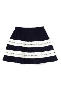 【KIDS】レースラインスカート