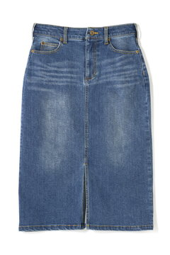 《BLUE》デニムタイトスカート