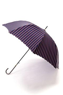 トラッドストライプ長傘