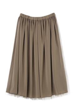 《BLUE》リバーシブルプリーツスカート
