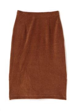 《BLUE》ベロアリップルスカート