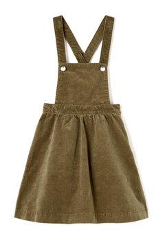 《KIDS》コーデュロイジャンパースカート