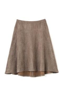 スエードアシメスカート