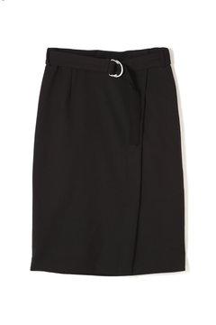 ダブルクロスストレートスカート