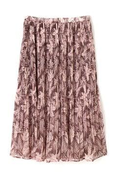 【VERY 6月号掲載】トロピカルプリントセットアッププリーツスカート