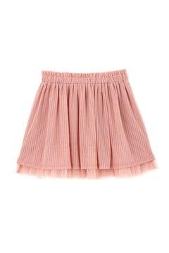 《KIDS》ストライプチュールスカート