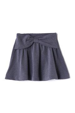 《KIDS》デニムライクポンチフレアスカート