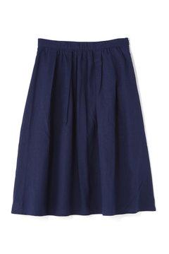 《BLUE》綿麻カラースカート