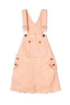 《KIDS》《Lee》カットオフオーバーオールスカート