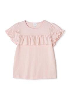 《KIDS》ラッフルディティールTシャツ