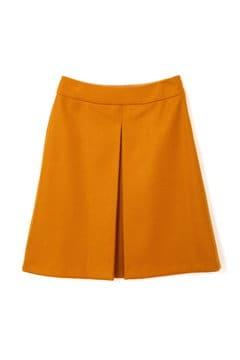 【JJ 11月号掲載】<ハンドウォッシャブル>ボタニーサージボックスプリーツスカート
