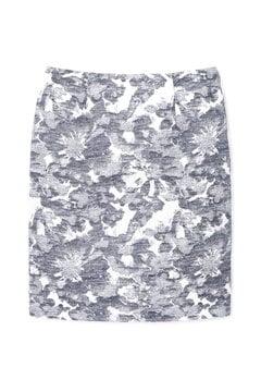 【先行予約_6月上旬入荷予定】フラワープリントモールジャガードスカート