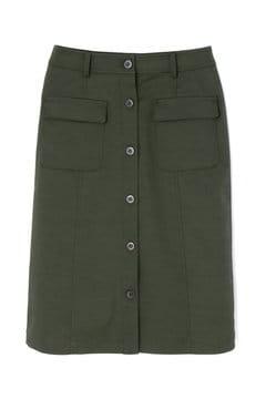 【先行予約_7月中旬入荷予定】フロントボタンスカート
