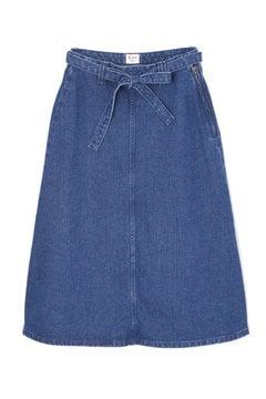 【先行予約_9月中旬入荷予定】《Leeコラボ》Aラインデニムスカート
