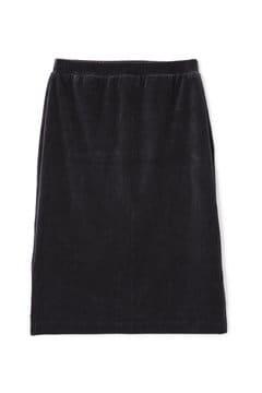 《BLUE》ストライプベロアスカート
