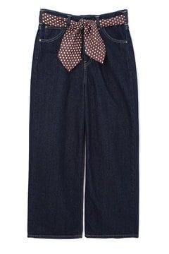 《Leeコラボ》スカーフベルト付きワイドパンツ