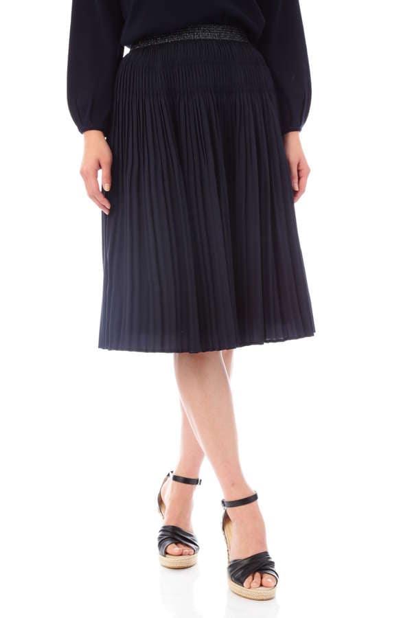 【竹内由恵さん、福田成美さん、宇賀なつみさん着用】《Purpose》クリセタツイルスカート