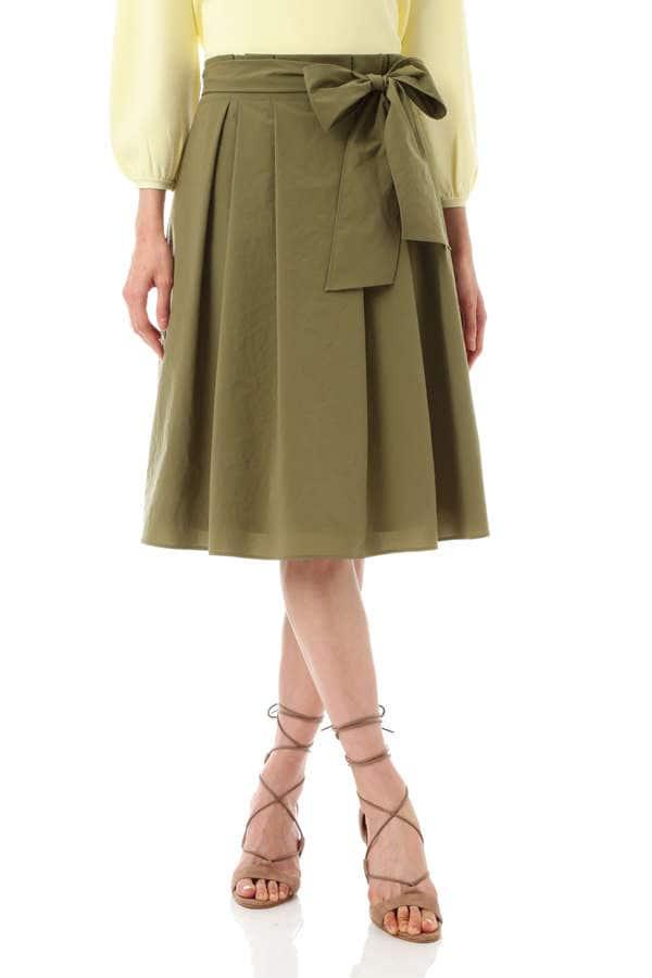 【CLASSY5月号掲載】【STORY5月号掲載】[松村未央さん、山中章子さん着用]マイクロタスランスカート