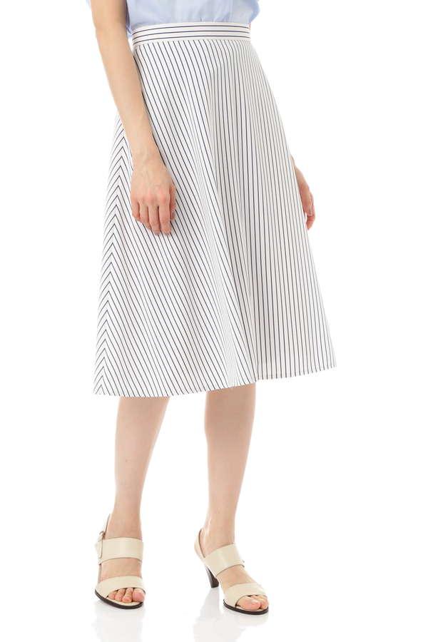 【先行予約 5月上旬 入荷予定】ペンシルストライプスカート