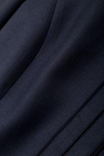 【CLASSY5月号掲載】[椿原慶子さん着用]シャイニービエラノーカラージャケット