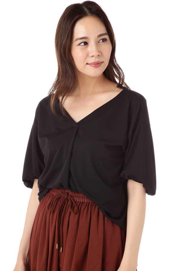 [WEB限定商品]【竹内由恵さん、杉山セリナさん着用】バルーンブラウス
