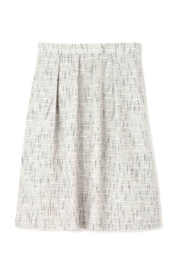 【先行予約 9月下旬 入荷予定】ラメカラミツィードスカート