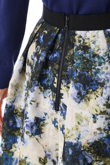 《Purpose》ペインティングジャガードスカート