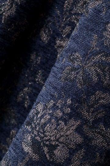 [WEB限定商品]ノーブルフラワージャカードスカート
