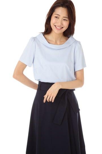 【新井恵理那さん着用】プライマリーポンチローマカットソーブラウス