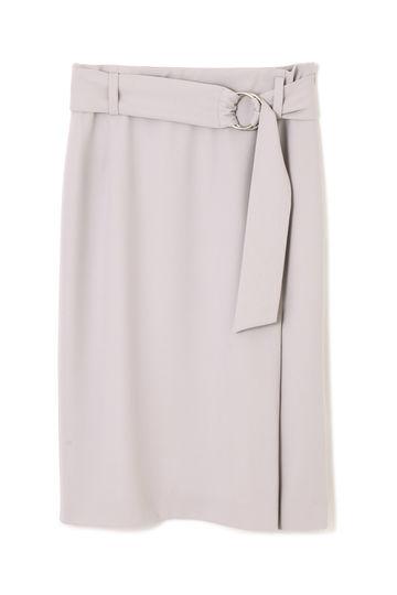 《B ability》[ウォッシャブル]ソフトサテンスカート