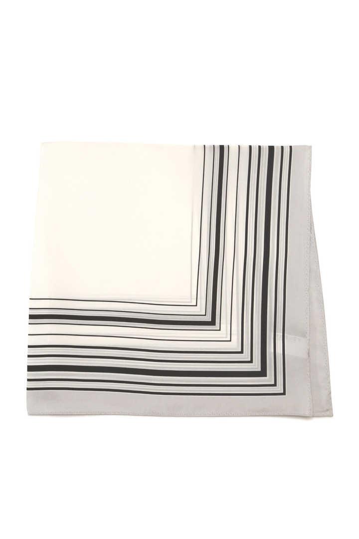 プチスクエアストライプスカーフ【UNDER15000】