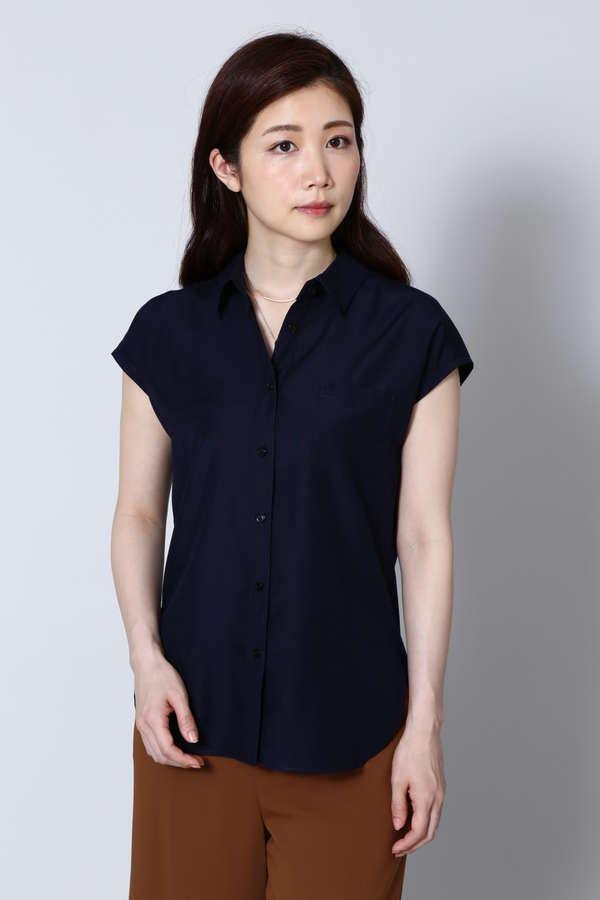 テンセル混ダンガリーシャツ