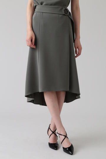 トリアセ綾二重フィッシュテールスカート