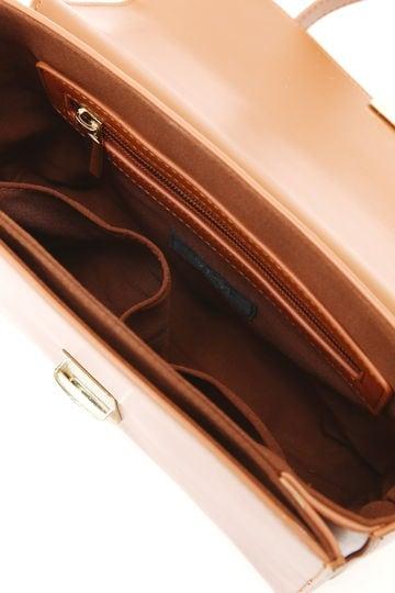 ボックスショルダーバッグ
