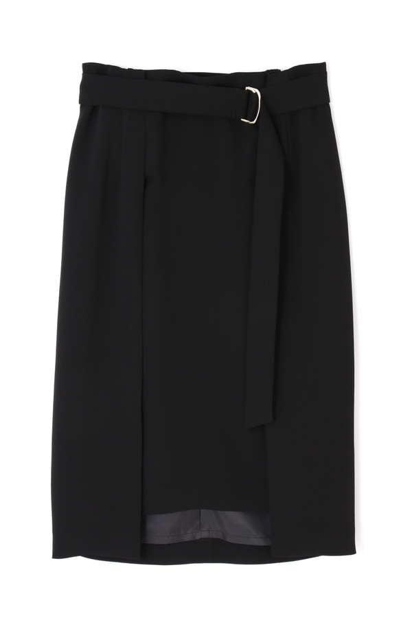 ダブルクロスレイヤードスカート