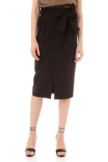 【CLASSY5月号掲載】《HOLIDAY LINE》PEタイプライターリボン付きスカート
