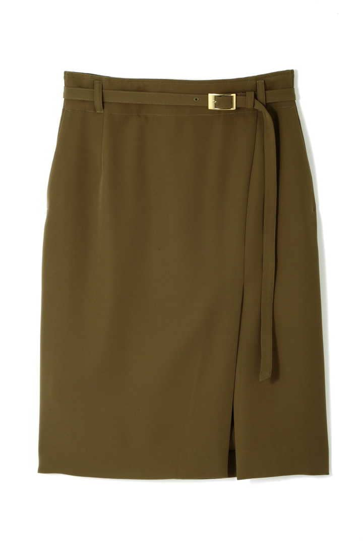 【先行予約 4月下旬入荷予定】[EC限定商品]アンバー共地ベルト付きスカート