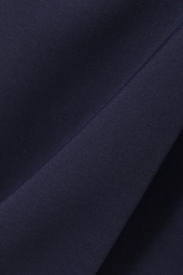 コンパクトサテンリボンベルト付きコート