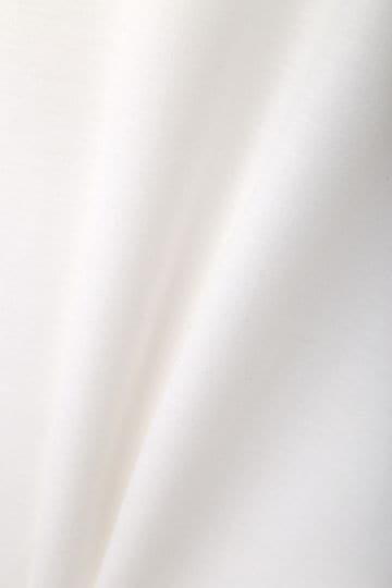 [ウォッシャブル]テンセルスムーススリットフレアースリーブカットソー【15000UNDER】
