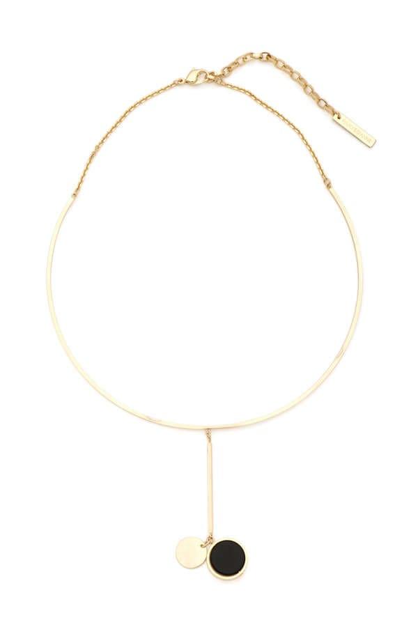 真鍮チョーカーネックレス