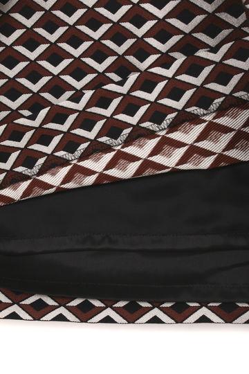 【先行予約 8月中旬 入荷予定】ジャガードストレッチスカート