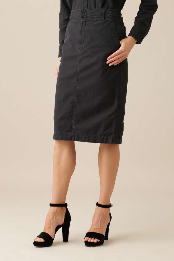 コットンバックサテンスカート