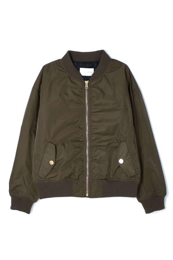 【先行予約 9月下旬 入荷予定】ハイデンシティギャバMA-1ジャケット