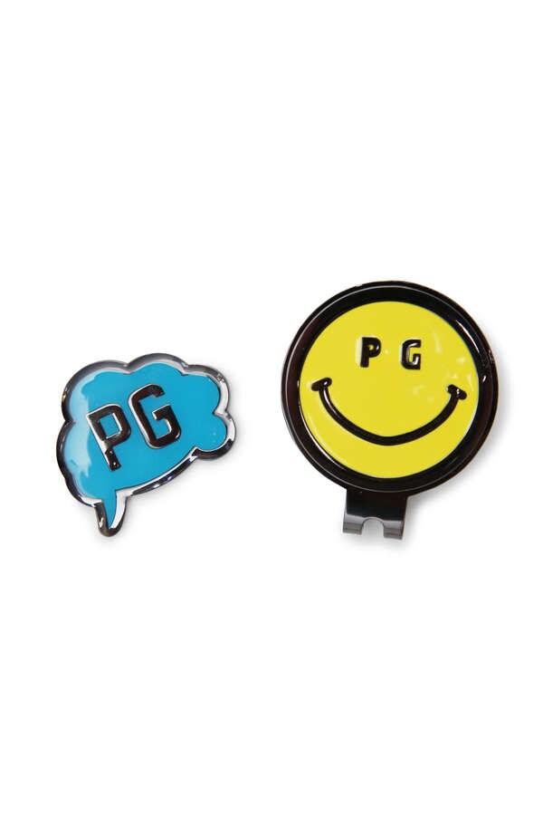 파리게이츠 PEARLY GATES [결제 전 재고문의 필수] 후키다시 & PG니코상 클립 마커 &#(UNISEX&#) 일본정품