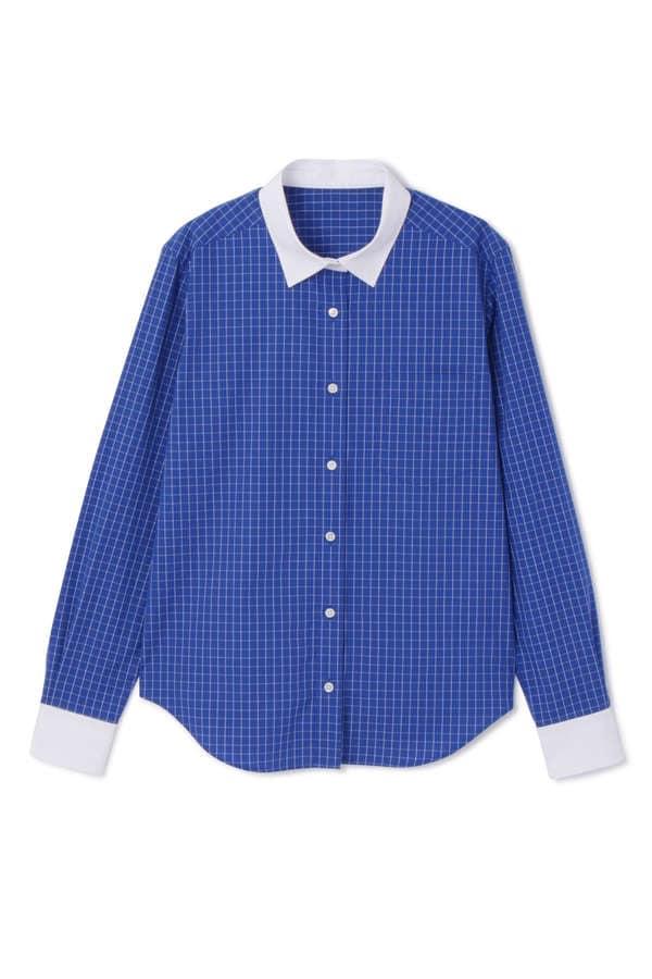 《H/standard》100/2ブロードシャツ