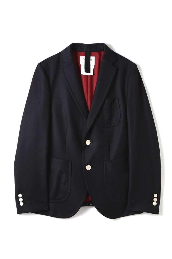 《H/standard》 2/60ウールフラノ ジャケット