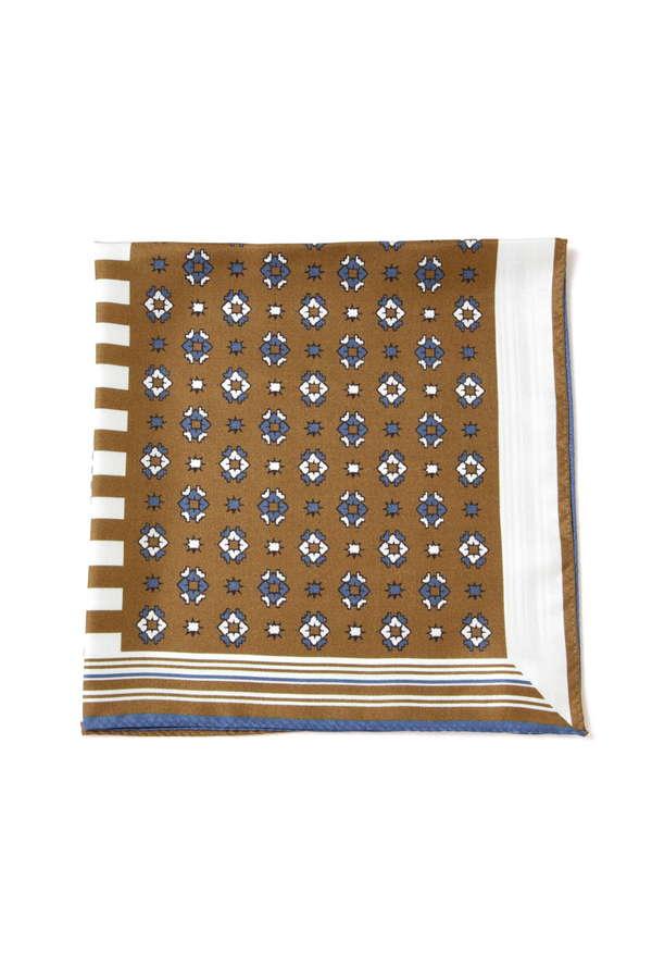 オリジナルスカーフ 小紋柄
