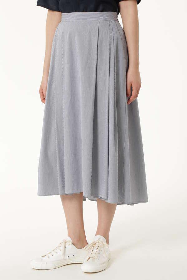 【先行予約 5月中旬お届け予定】オーニングストライプスカート