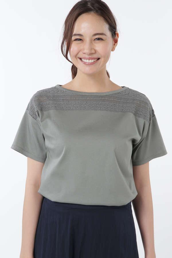 レーシーTシャツ