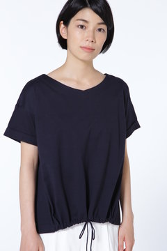 ドローストリングTシャツ